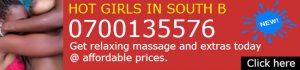 Nairobi sexy girls offering sweet and erotic massage